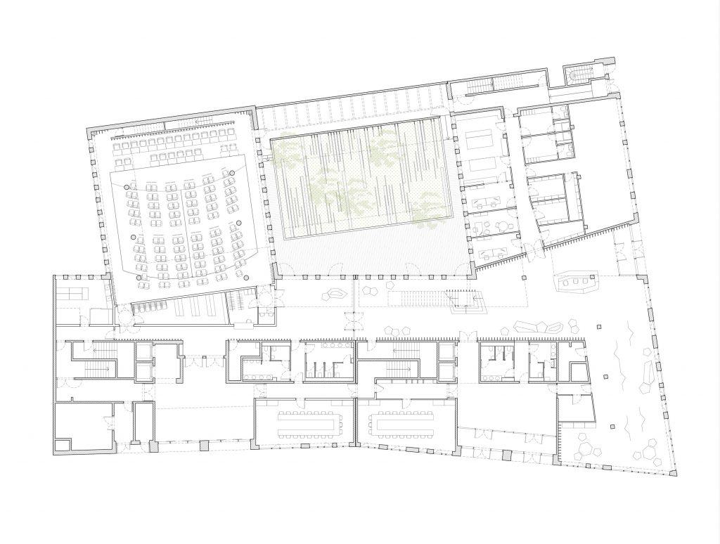 caen h tel d agglom ration caen la mer think tank architecture paysage urbanisme. Black Bedroom Furniture Sets. Home Design Ideas