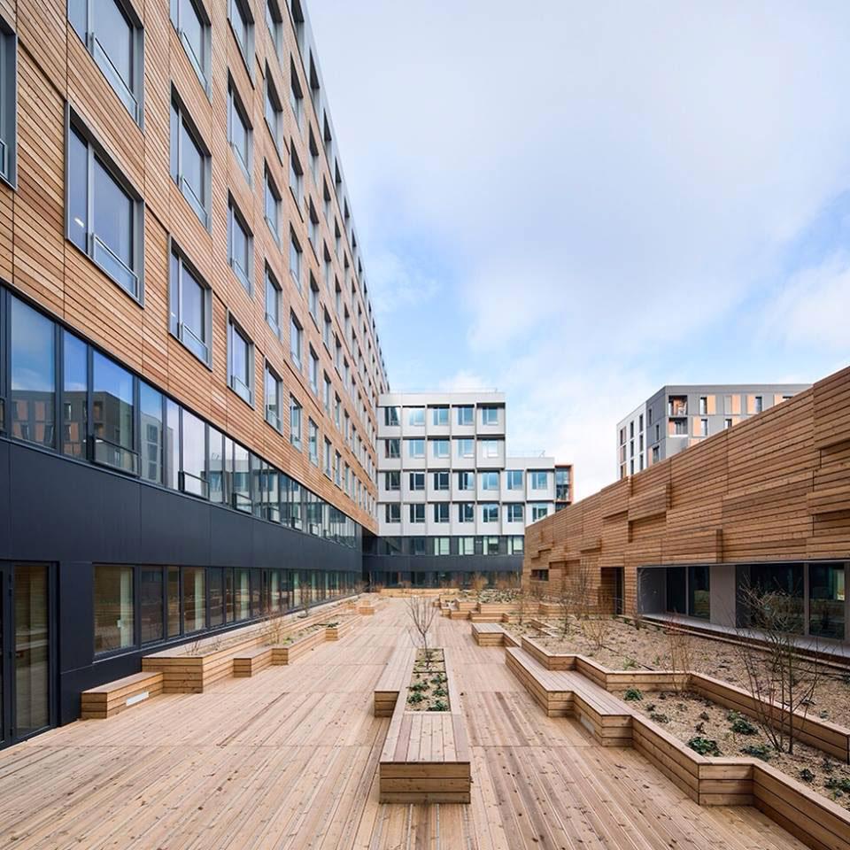 saint ouen immeuble de bureaux docks en seine think tank architecture paysage urbanisme. Black Bedroom Furniture Sets. Home Design Ideas