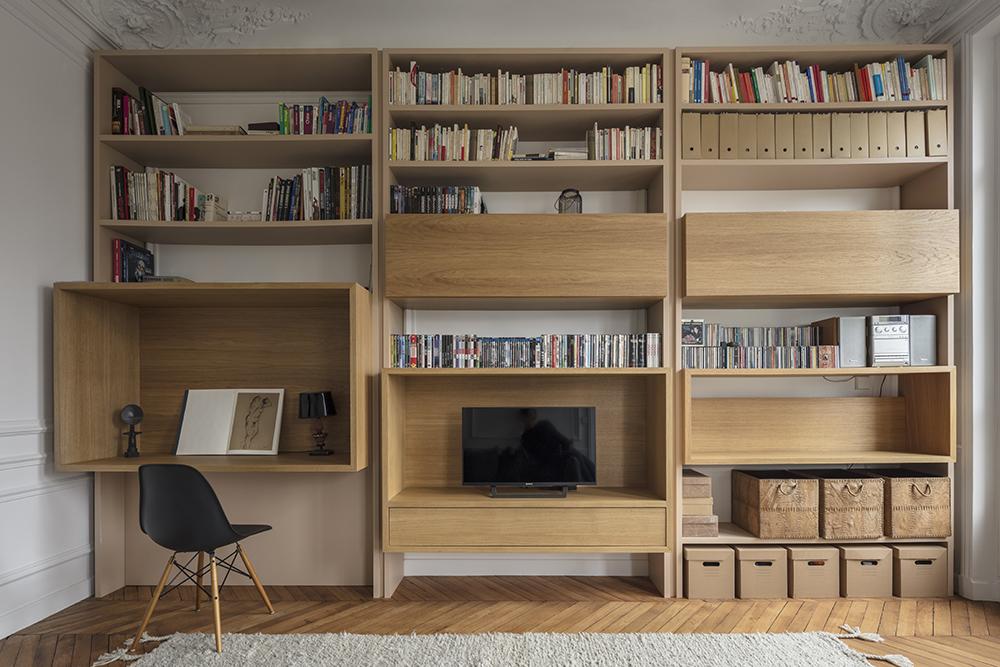 paris appartement cf think tank architecture paysage urbanisme. Black Bedroom Furniture Sets. Home Design Ideas